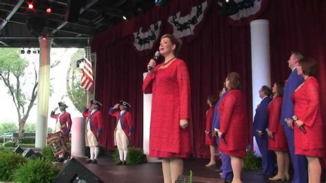 the new voice of liberty the voice of liberty epcot voices of liberty 4th of july full concert