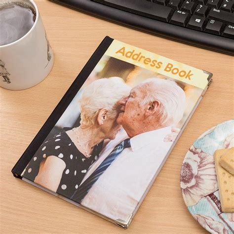 Handmade Address Book - photo address books personalised address book with photo