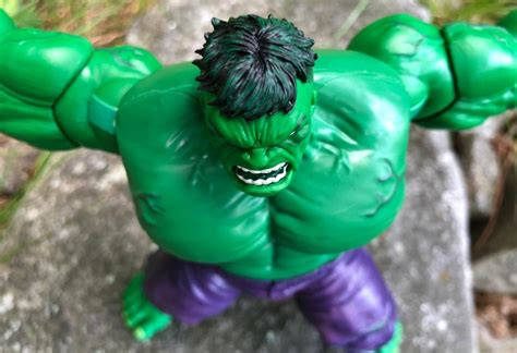 review sdcc  marvel legends exclusive hulk vintage