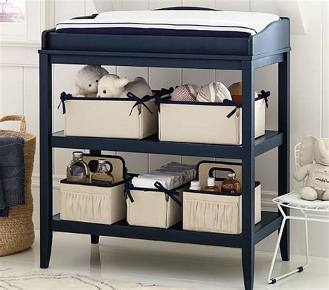 Navy Changing Table Navy Changing Table Emerson Changing Table Pottery Barn