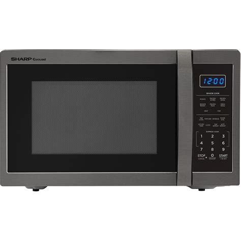 Microwave And Oven Sharp sharp carousel 1 4 cu ft 1100w countertop microwave oven