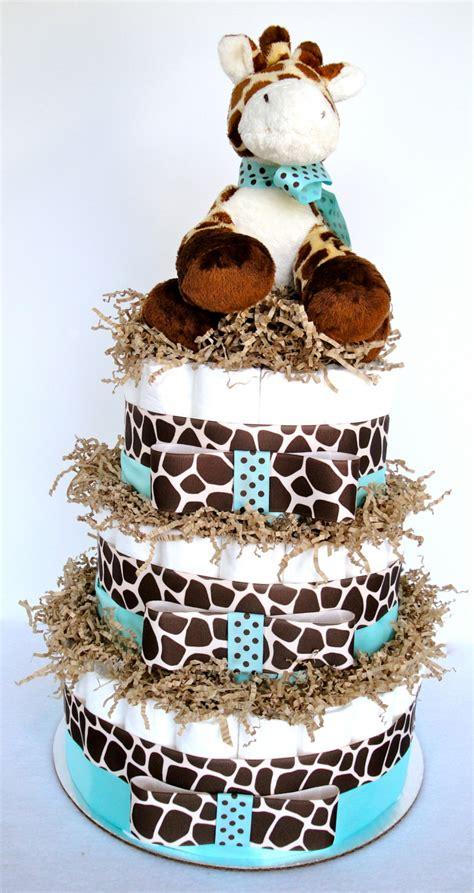 giraffe baby shower decorations for boy cake giraffe theme blue by
