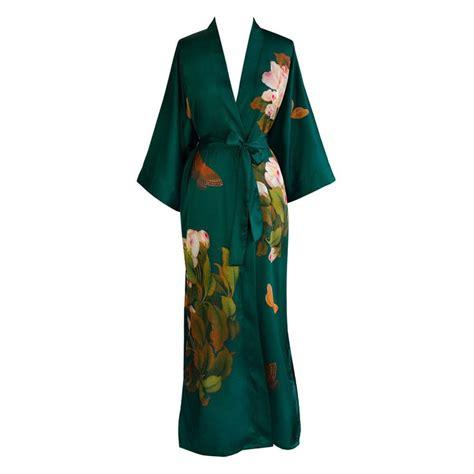 pattern for long kimono peony butterfly kimono robe long robe kimonos and robe