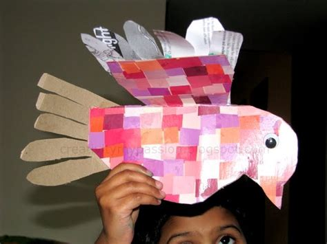 tissue paper box craft bird from tissue paper box craft to