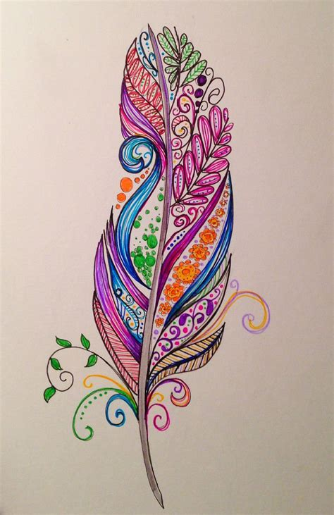 tattoo feather artistic 25 best ideas about paisley pattern on pinterest