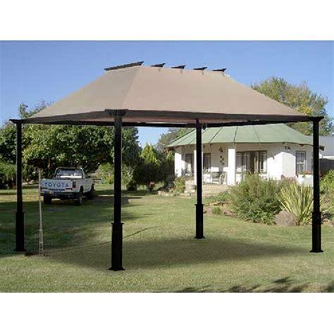 8x8 Patio Canopy Gazebo Garden Winds