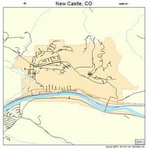 new castle colorado map 0853395