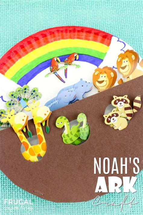 paper plate crafts for sunday school noah s ark an adorable paper plate sunday school craft