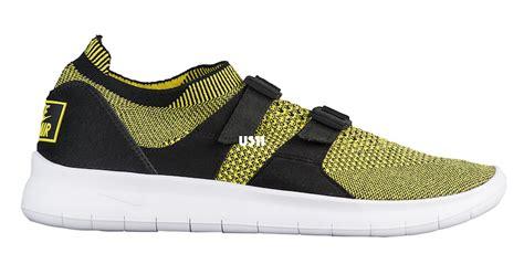 Sneakers Sepatu Nike Air Sock Racer Ultra Flyknit Yellow Premium nike air sock racer ultra flyknit debuts this 2017 sneakers cartel