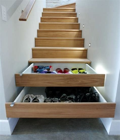 Shoe Rack For Stairs by 3 Brilliant Shoe Storage Areas