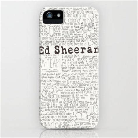 ed sheeran perfect ringtone iphone ed sheeran iphone case by calmoceans from society6 epic