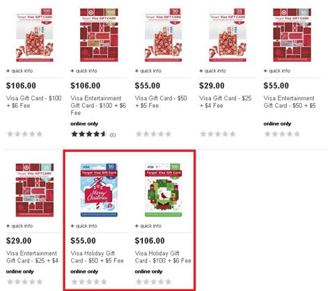 Target Holiday Gift Cards - visa holiday gift card available online now at target ways to save money when shopping