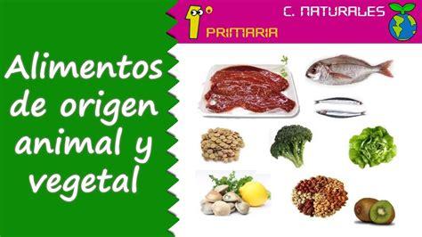 imagenes de origen animal vegetal y mineral ciencias de la naturaleza tema 3 alimentos de origen