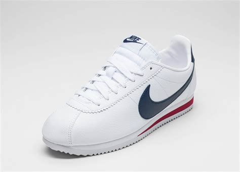 Nike Classic Cortez Leather White Navy Nike Classic Cortez Leather White Midnight Navy
