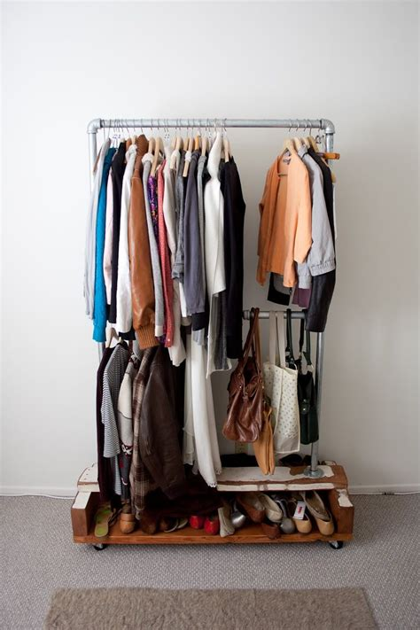 Wardrobe Clothes Rack by Keep Your Wardrobe In Check With Freestanding Clothing Racks