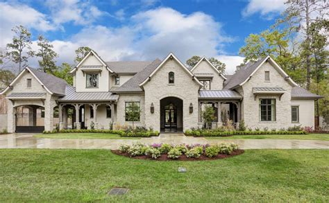 french country houses 4 5 million newly built french country home in houston