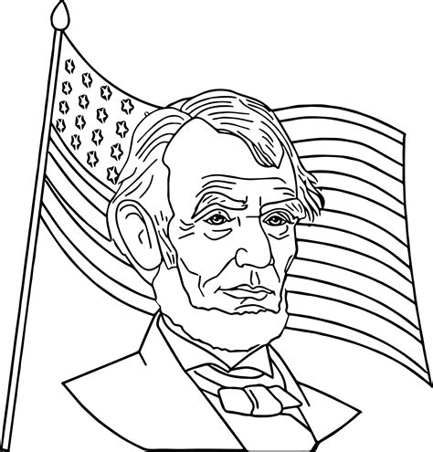 abraham lincoln coloring pages for kindergarten abraham lincoln coloring pages coloringsuite com