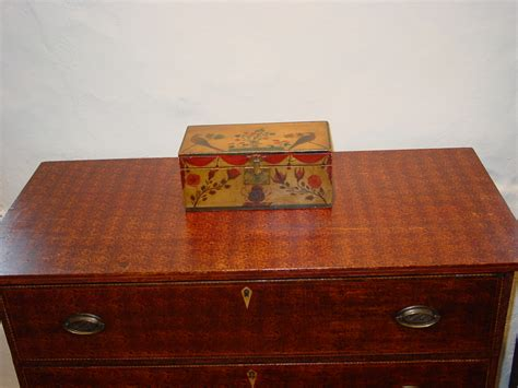 Sponge Drawer by Sponge Decorated Four Drawer Chest Sold Olde Antiques