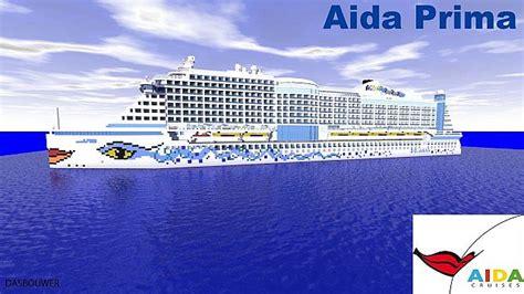 kabinenkategorie aida prima aida prima 1 1 real cruise ship minecraft project