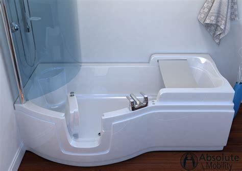 best shower baths walk in shower baths the best of both worlds absolute