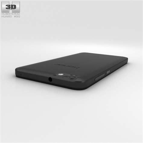 Huawei Honor 4x Black huawei honor 4x black 3d model hum3d