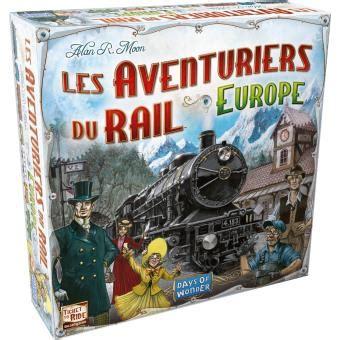 Asmodee Gadget Jeux by Asmod 233 E Les Aventuriers Du Rail Europe Jeu De Culture G 233 N 233 Rale Achat Prix Fnac