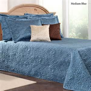 gardenia floral quilted bedspread bedding