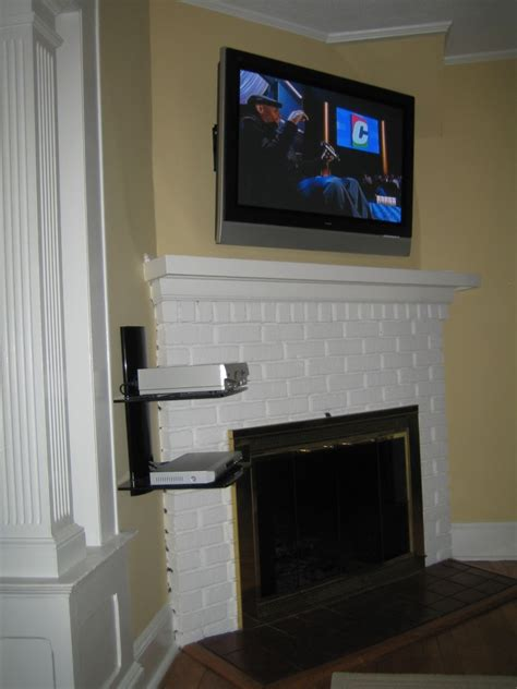 coventry ct tv instlal fireplace with all wires