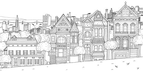 coloring pages for adults houses gear guide zone out with adult coloring books