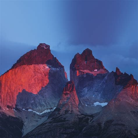 wallpaper yosemite iphone 5s nd72 yosemite mountain red blue nature cold