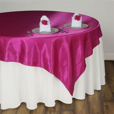 wedding table overlays 6 x satin square 60 quot table overlays wedding catering