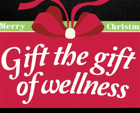 And Give The Gift Of by Give The Gift Of Wellness Health Mates Fitness Centre