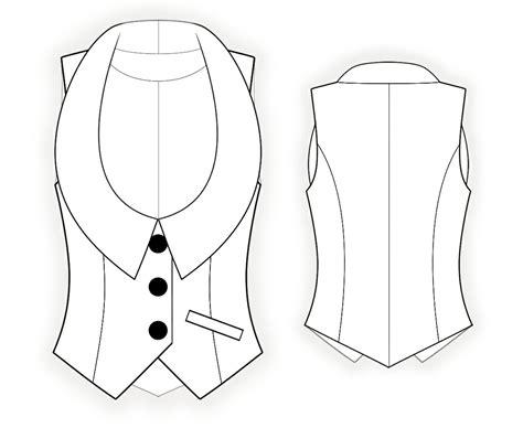 sewing pattern waistcoat waistcoat sewing pattern 4339 made to measure sewing