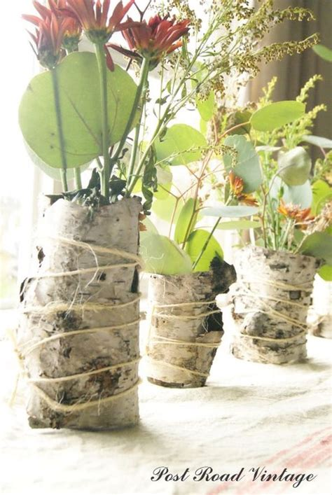 How To Make Birch Bark Vases by 12 Unique Diy Projects Featuring Birch Wood
