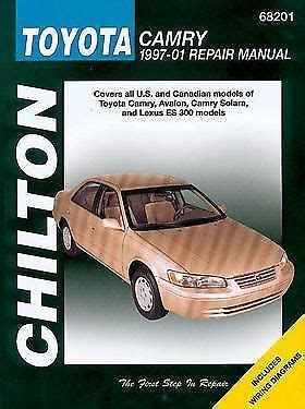 book repair manual 1997 toyota camry head up display chilton repair manual 68201 toyota camry avalon es300