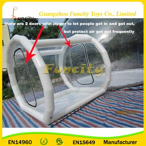 transparent bubble tent outdoor cing transparent inflatable bubble tent with