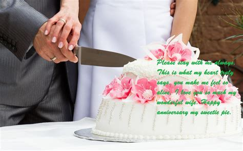 Marriage Anniversary Cake Images With Wishes For Wife