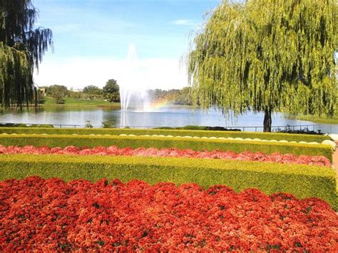 Chicago Botanic Garden In Fall Picture Of Chicago Botanical Gardens Chicago Hours