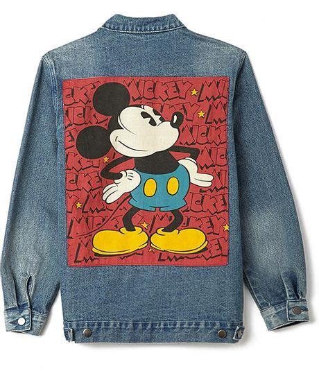Mickey Denim forever 21 standout mickey denim jacket in blue medium