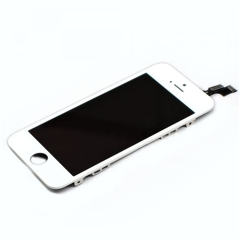 Spare Part Lcd Iphone 5s white iphone 5s lcd display touch screen digitizer replacement parts assembly grade r