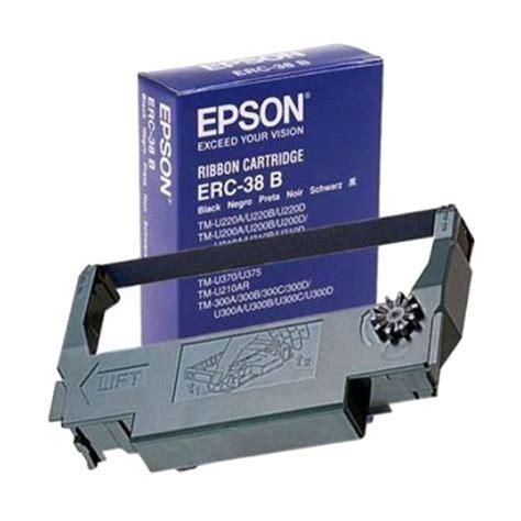 Ribbon Cartridge Erc 38 jual epson erc 38 b ribbon cartridge for printer kasir epson tm u220 harga kualitas