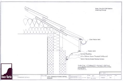 Cornice Installation house martin construction grp cornice lable moulds and string course