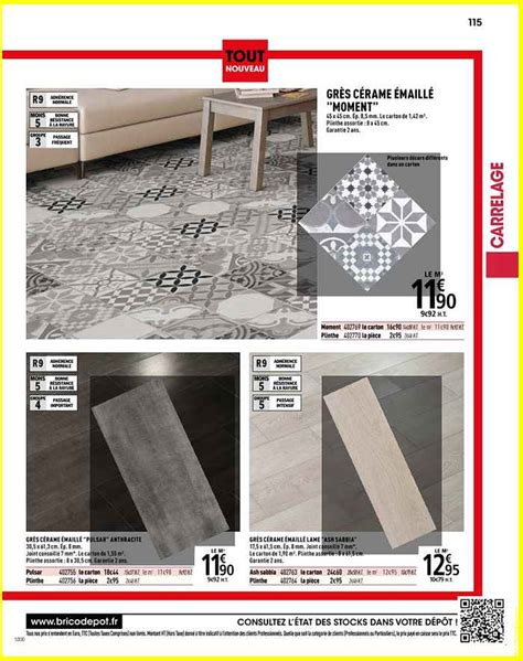 Carrelage Interieur Brico Depot 4077 by Carrelage Interieur Brico D 233 P 244 T L Officiel Du Bricolage