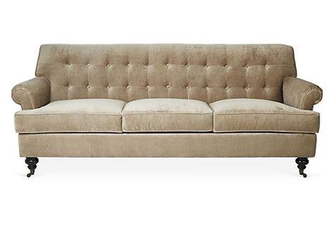 Whitby Sofa by Whitby 89 Quot Velvet Sofa On Onekingslane Home