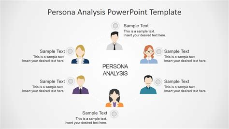 Persona Analysis Powerpoint Template Slidemodel Persona Template Powerpoint