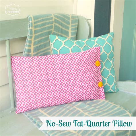 Easy Sew Pillow Covers by Things To Make With Quarters