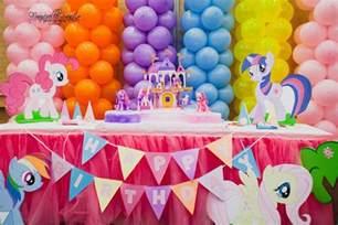 birthday ideas my pony birthday theme