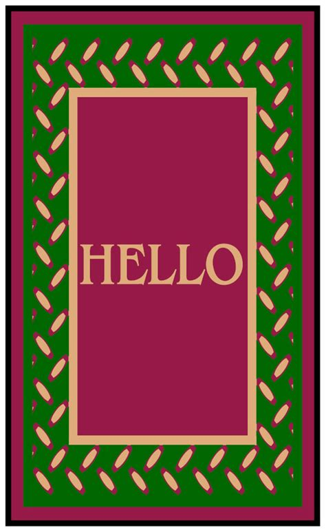 Hello Welcome Mat by Hello Welcome Mats Are Welcome Rugs By American Floor Mats