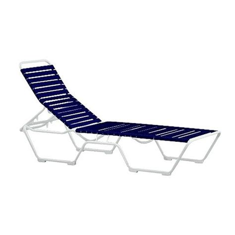 vinyl strap chaise lounge tropi kai vinyl strap chaise lounge with armless aluminum