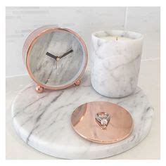 rose themed kitchen black white grey workspace decor ideas rose gold candle